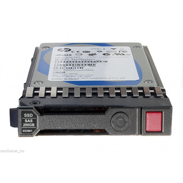 HP Vaste schijf (SSD) 480 GB 12 G SAS RI-3 SFF SC 816562-B21