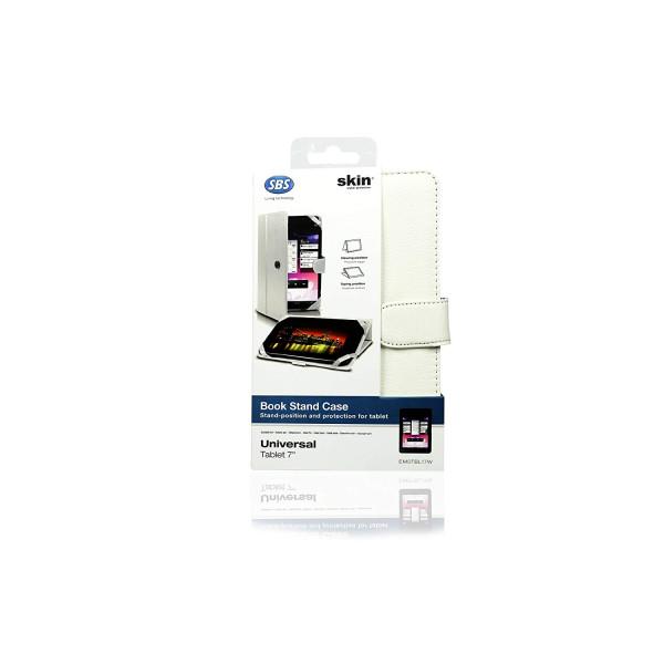 SBS Case tablet universal 7 White EM0TBL17W