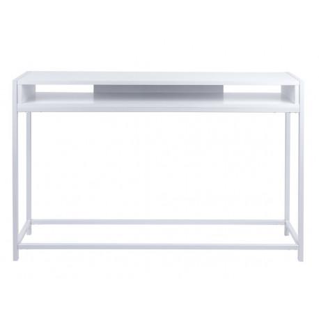 Leitmotiv Side table Fushion white LM1373