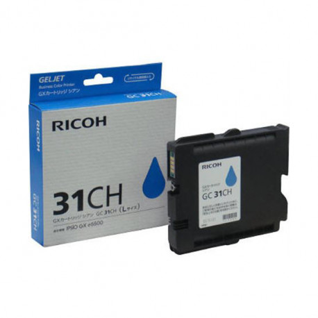 RICOH High Yield Print Cartridge Cyan GC31CH