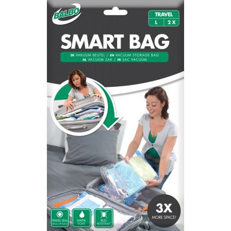 Balbo Vacuum Bags Smart Bag Medium Travel 2X L Transparent