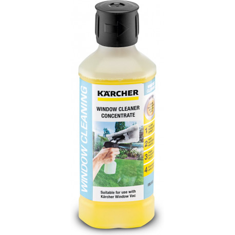 KÄRCHER Cleaning agent Glass WV RM 503 500 ML conc (20 ML/230 ML water) 6.295-840.0