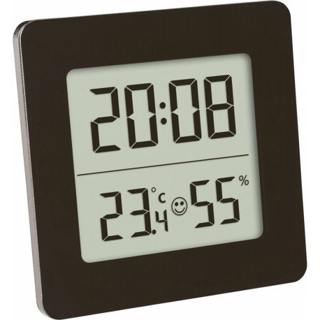 TFA digitale thermo hygrometer vierkant 30.5038.01