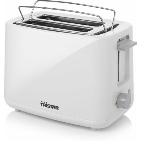 TRISTAR Broodrooster – 2 korte sleuven – Wit BR-1040