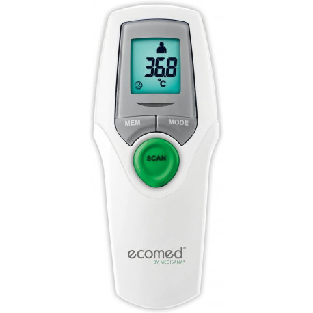 ECOMED Infrared Thermometer Medisana Display: LCD TM-65E