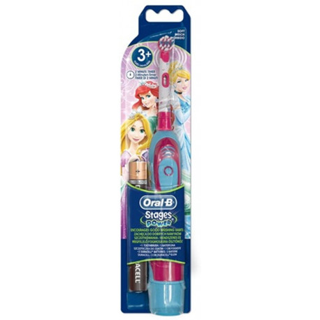 ORAL-B Stages Power Kids toothbrush on batteries with Disney Princes (1 piece) 3744