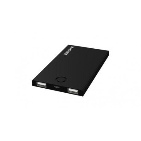 X-MOOVE Powerbank MiniDuo 4000mAh Black X-MOOVE/MINIDUO-NOIR