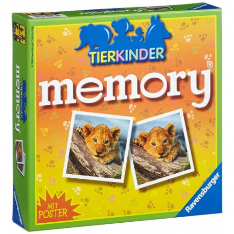 RAVENSBURGER Memory with poster 212750