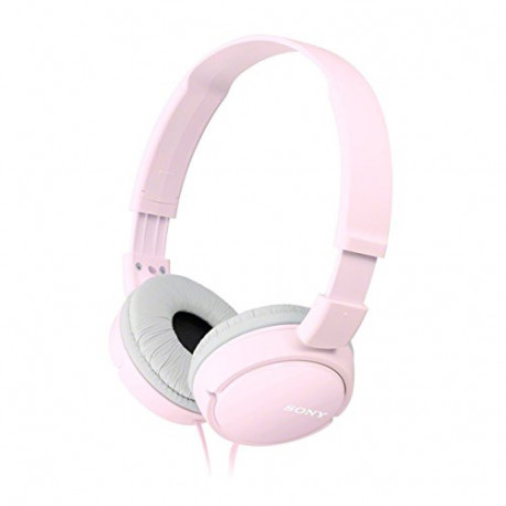 SONY Overhead Headphones with In-Line Control Pink MDRZX110APP.CE7
