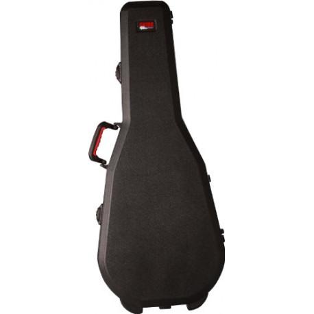 Gator ATA Molded Mil-Grade pe Case with tsa Latches for Classical Guitars GPE-Classic-TSA
