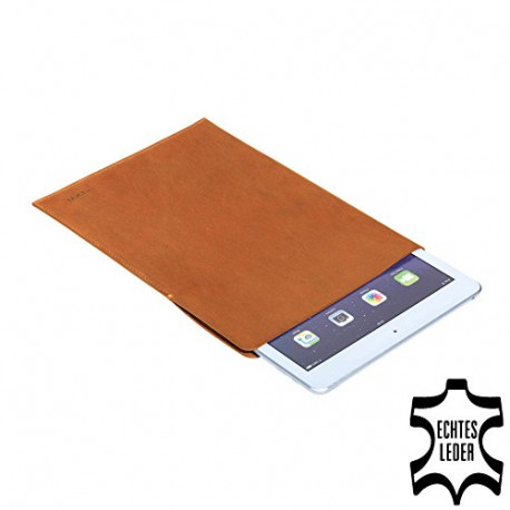 Pedea leer tas Tennessee voor Apple iPad Air Brown (iPad Air) cognac 50160077