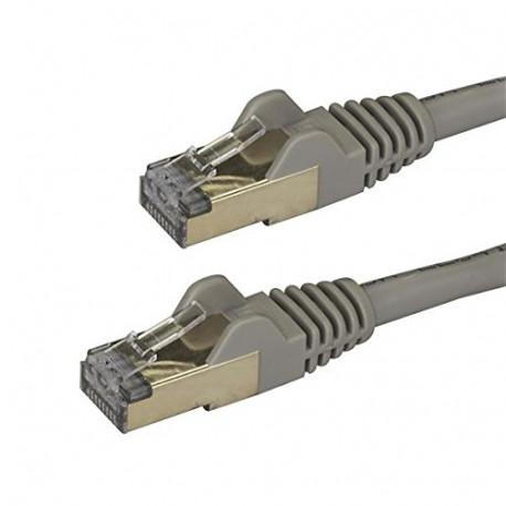 STARTECH 3 M CAT6A Ethernet-kabel grijs V934087