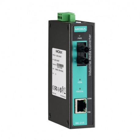 MOXA media-omzetter 10/100MTX 1 IMC-21A-M-SC
