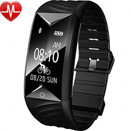 WILLFUL Smart Bracelet for Sport Black SW329-BK-ES7