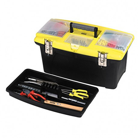 STANLEY 192905 Jumbo Toolbox 16-inch with Tray 1-92-905