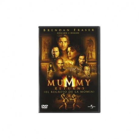 Universal DVD The mummy returns (The return of the mummy) (Spain) QP-24613