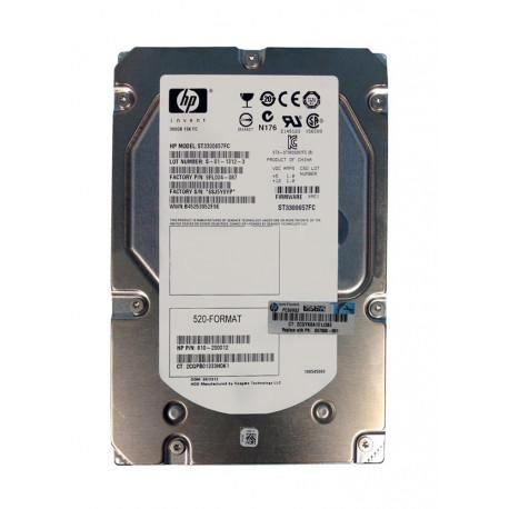 HP hard drive 300GB 15K 3.5 FC 657888-001