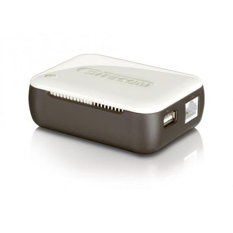 SITECOM Mobiele router 300 MB Brown/White AC WL-357