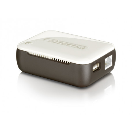 SITECOM Mobile Router 300MBITS Brown/White AC WL-357