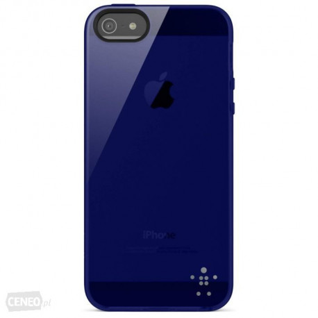 BELKIN Grip Sheer Deep Blue (iPhone 5) F8W093vfC02