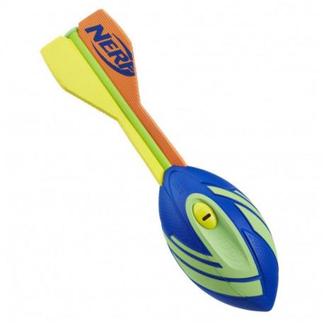 NERF Vortex Aero Howler Whistling Football Blue Green E1295
