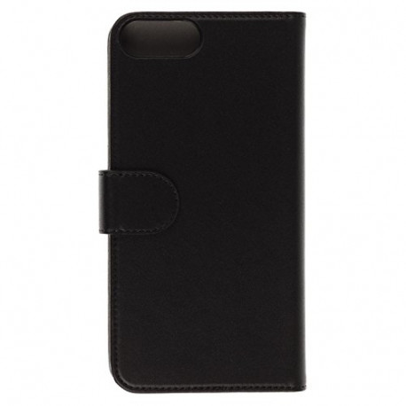 tec+ Folio Flip Wallet Phone Case Cover for iPhone 6 PLUS/6S PLUS/7 Plus Black TPPCFIP6P