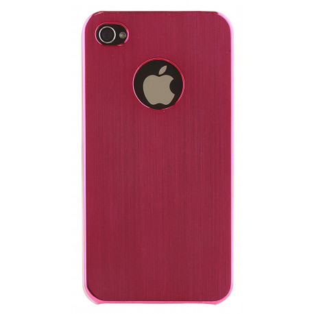 Pro-Tec Xpression Hard Shell Clip-On Case Cover for iPhone 4/4S Pink Metallic PXIP4MPI