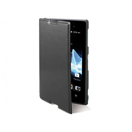 KSIX Made for Xperia – Folio Case for Sony Xperia E1 Black MFX3453FU81
