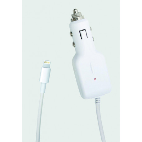 KSIX Car charger 1A for iPhone 5/5S/5C/6/6S/6 Plus B0914CR01