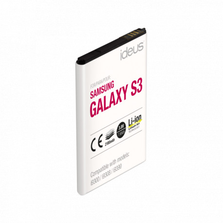 ideus Battery for Samsung Galaxy S3 2100 mAh BYS3