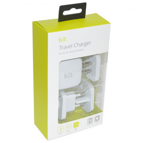 Kit Indoor White mobile device charger USBMC3INTWH