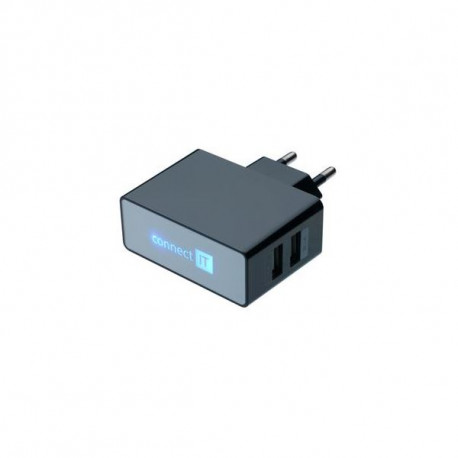 Connect IT Dual Charger 230V CI-153