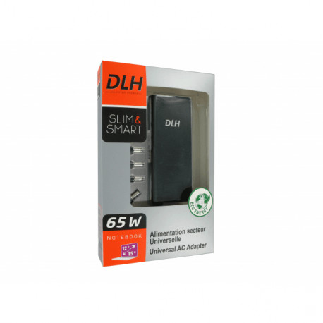 """DLH Univ Charger 65W 19V Notebook 12-15"""" DY-AI3165"""