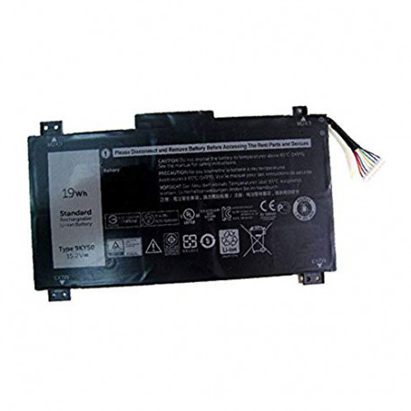 Amsahr Replacement Battery for dell 9KY5O/9KY50/4ICP3/40/72 9KY50-02