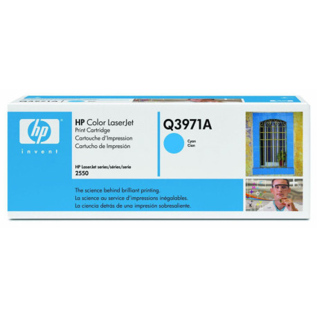 HP 123A Cyaan originele tonercartridge Q3971A