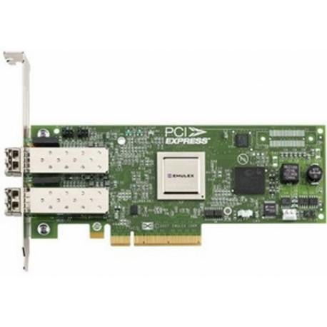 Broadcom Emulex LPE12002 8GB PCIe 2.0 dual-port FC HBA LPE12002-M8