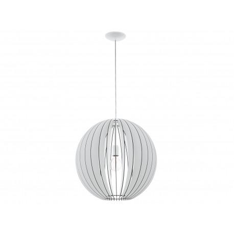 EGLO Cossano Hanging lamp 1 Light Ø500MM White