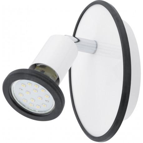 EGLO Modino Spot 1 Light White Chrome