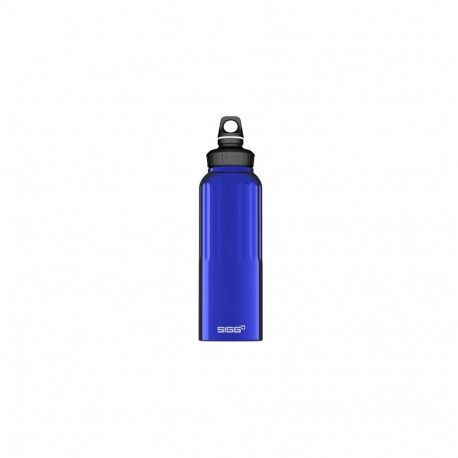 SIGG Wide Mouth Traveller Water Bottle (Dark Blue 1.5-LITRE) BUGA8256.10