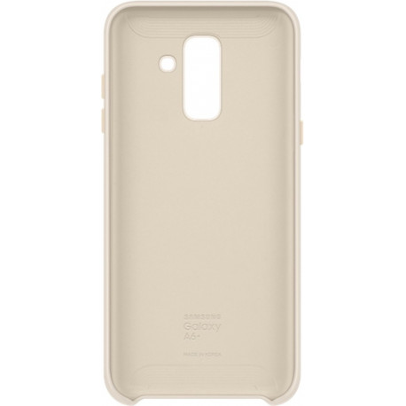 SAMSUNG galaxy A6+ Dual Layer Cover Gold EF-PA605CFEGWW