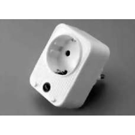 DELTAC Auviparts Plug adapter with surge protection White 1024DELTAC