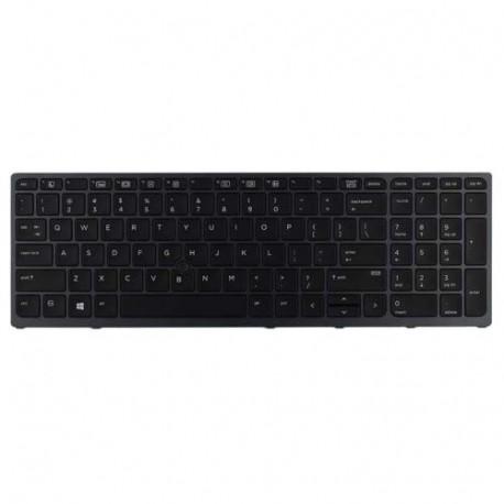 HP German Keyboard for ZBook 17 G3 Black 848311-041