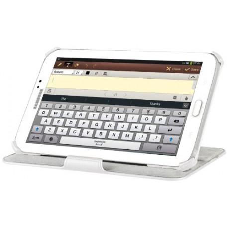 CELLULARLINE Cellular Line 200 W Flip Case for Samsung Galaxy Tab 3 P3200 Visiongtab3P3200W