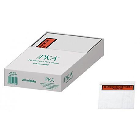 PKA Packing List Envelopes 140x125mm Pack of 250 16149