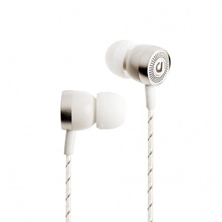 AUDIOFLY AF45C In-Ear Headphone with Mic Bakelite White AF453-2-02