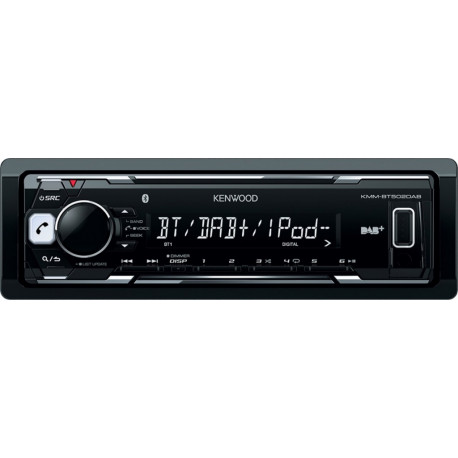 Kenwood Car Radio with Bluetooth Unit only without accessoiries KMM-BT502DAB-QPv1