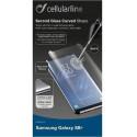 CELLULARLINE Screenprotector curved S8 transparent TEMPGCUCFGALS8PLT