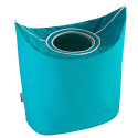 """Wenko """" Donkey Laundry bin Petrol Blue 62071100"""
