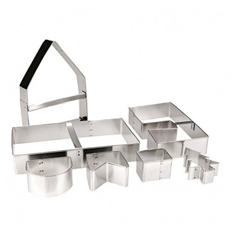 ibili Haus Biscuit Cutter 7-PIECE Set House Shapes 779800