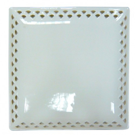 Better & Best – Source Calada Square Porcelain 26X26X2 cm white 2071032